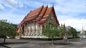 Комплекс виска на Пхукете Таиланде стоковое изображение rf