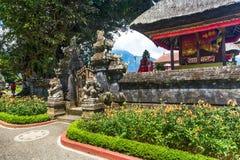 Комплекс виска Pura Ulun Danu, Бали, Индонезия стоковое изображение