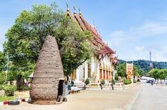 Комплекс виска Wat Chalong в районе Пхукета, Таиланде стоковые изображения rf