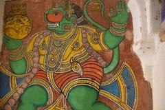Комплекс дворца Thanjavur Maratha, Tamil Nadu стоковые изображения
