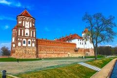 Комплекс замока Mir Стоковое Фото