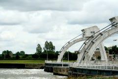 Комплекс плотины и замка, Hagestein Стоковые Фото