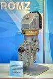 Комплекс пулеметчика визировать и замечания танка термического изображения стоковое изображение