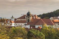 Комплекс церков Loretto в Праге, Чехии Стоковое фото RF