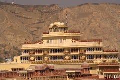 Комплекс Jaipur дворца города Стоковые Изображения RF