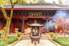 Комплекс Lingyin Temple (виска отступления души) стоковое фото