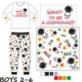 Комплекты одежды детей Стоковое фото RF