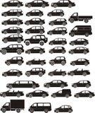 комплект автомобиля Стоковое фото RF