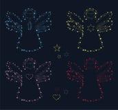 комплект ангела Стоковое фото RF