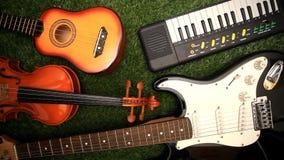 Комплект аппаратуры музыки сток-видео
