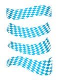 Комплект баварских знамен Стоковые Фотографии RF