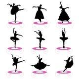 комплект балета бесплатная иллюстрация