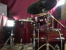 Комплект барабанчика стоковое фото rf