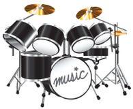 комплект барабанчика Стоковое Изображение