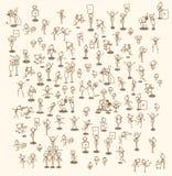 Комплект бизнесменов Стоковое Изображение RF