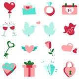 Комплект валентинки бесплатная иллюстрация