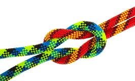 комплект веревочки узлов Стоковое Фото