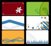 комплект визитной карточки Стоковые Фото