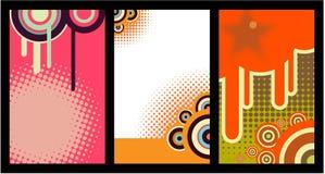 комплект визитной карточки 17 Стоковое Изображение
