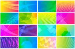 Комплект визитной карточки Стоковое Изображение RF