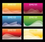 комплект визитной карточки Стоковая Фотография