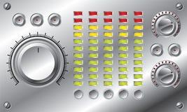 комплект водить fi выравнивателя высокий иллюстрация штока