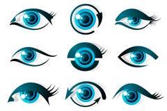 комплект глаза Стоковые Фото