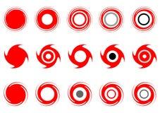 комплект графика элементов Стоковое Изображение