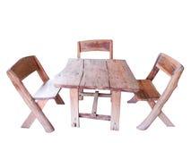 Комплект деревянной скамьи Стоковые Изображения