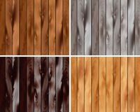 Комплект деревянной текстуры Стоковое Фото