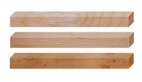 Комплект деревянных доск Стоковое Изображение RF