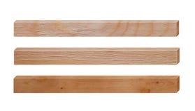 Комплект деревянных доск Стоковые Изображения