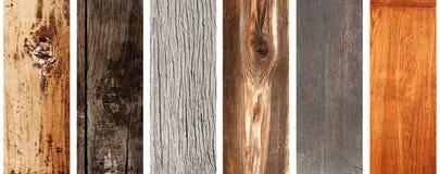 Комплект деревянных знамен Стоковое Изображение