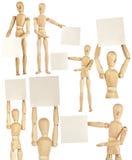 Комплект деревянных кукол Стоковое фото RF