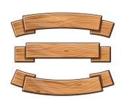 Комплект деревянных плит бесплатная иллюстрация