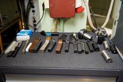 Комплект деталей для работы Стоковое фото RF