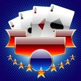 комплект деталей s казино иллюстрация вектора