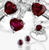 комплект диаманта Стоковое Изображение RF