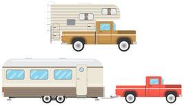 Комплект домов на колесах Стоковая Фотография