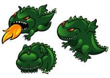 комплект дракона Стоковая Фотография