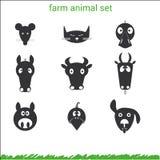 Комплект животноводческой фермы Стоковое Изображение RF