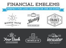 Комплект знаков денег финансов банка вектора Оплаты и доход Cryptocurrency Смогите быть использовано как логотип или значок в наг иллюстрация штока
