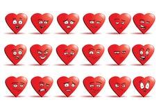Комплект значка воплощения влюбленности Стоковое фото RF