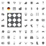 Комплект значка Octoberfest Немецкие символы еды и пива изолированные на белой предпосылке также вектор иллюстрации притяжки core иллюстрация вектора