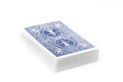 Комплект играя карточек Стоковая Фотография