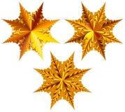 Комплект изолированных звезд Стоковые Фотографии RF