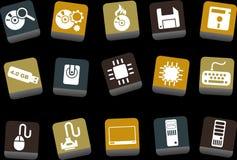 комплект иконы компьютера бесплатная иллюстрация