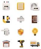 Комплект иконы реновации дома. Часть 2 иллюстрация вектора