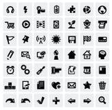 Комплект иконы сети Стоковое Изображение