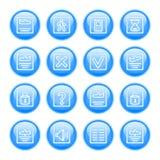 Комплект иконы состояния полета Стоковые Изображения RF